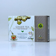 Raw Gingers and Green Tea Leaves Extract Cold/Iced Water Soluble