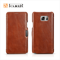 leather flip case for samsung galaxy note 5