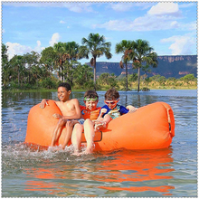 Factory wholesale inflatable air filled bed beanbag