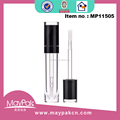 Cylinder empty lipgloss tube for skin care