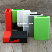 Hot selling popular HUANYI colorful smoke x cube2 vape mod silicone case/skin/sleeve/cover/wrap/stickers