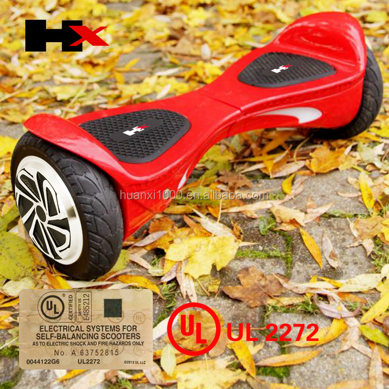HX X1SUV UL2272 8inch bluetooth speaker 2 Wheel Balance Board Electric Hoverboard for Sale