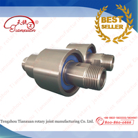 high speed water swivel joint with stainless steel material