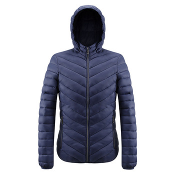 Winter Hooded Men Padded Puffer Heavy Jacket