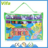 12 Drawing Creative Craft Painting Stencils Educational Art Tool Set for Kids