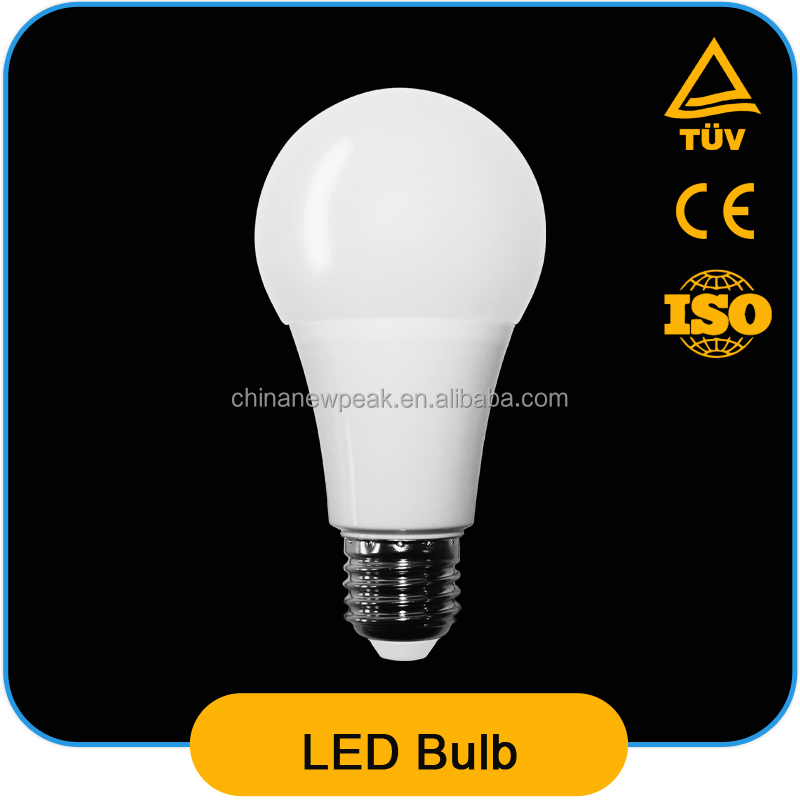 12 Watt LED Bulb for Home Use Super Brightness Cool White 6500K A70 12W LED Bulb 1200lm China Manufacturer