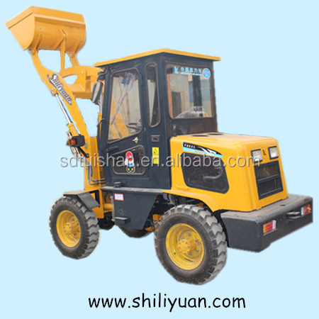 1.0 Ton 4X4 Compact Mini Wheel Loader With Snow Bucket and Good Tyres china famous