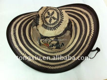Colombia foldable cowboy hats