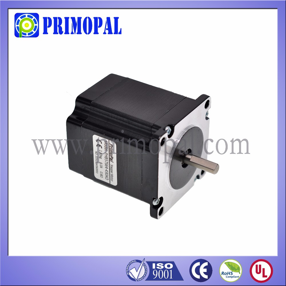Most popular 4.6 A 3 phase NEMA 23 stepper motor in EASA
