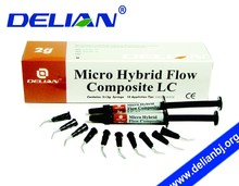 Delian Micro Hybride Flow Composite LC Dental Composite Resin Product