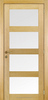 4 Panel Shaker Beveled Glass Interior Doors, Wood Beveled Glass Interior Doors