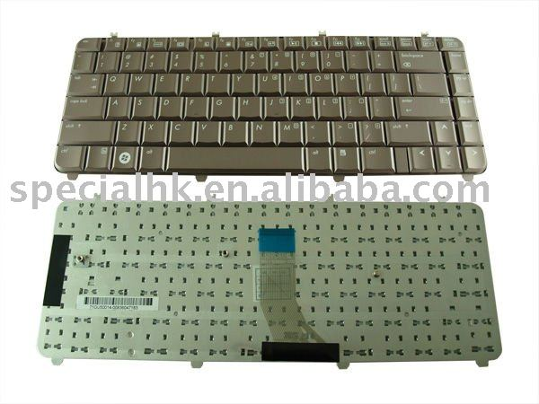 Laptop Parts for HP Compaq Pavilion DV5 DV5-1000 Series US Keyboard