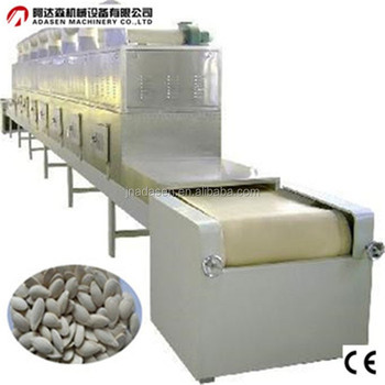 Food /spice/nuts/grains/tea microwave dryer and sterilization machine