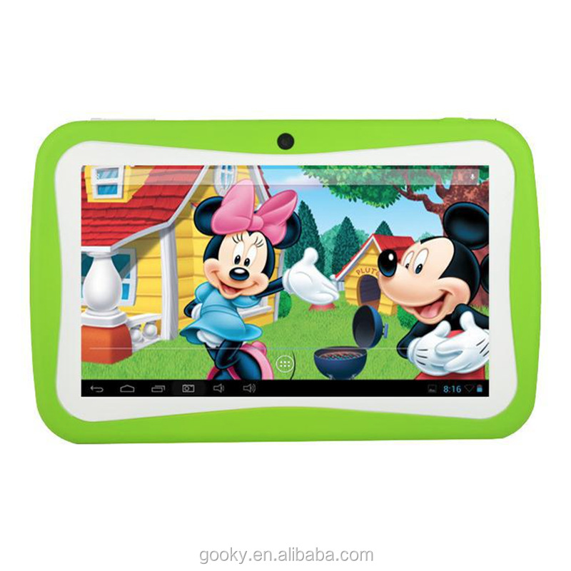 2017 Free sample 7inch kids android tablet quad core ips touch screen tablet android 5 os wifi tablet for kids