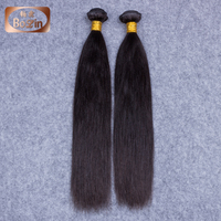 7A grade wholesale Indian hair in India straight human hair dubai 8''-30'' Indian temple hair