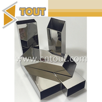 Factory Wholesale 304 316 Stainless Steel Rectangular Pipe