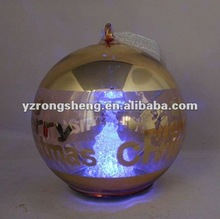 LED glass christmas ball