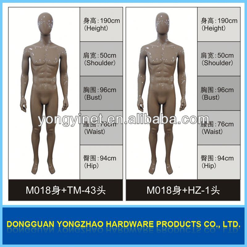high quality new model 2012 male feet mannequin display with 5 toes