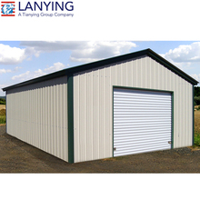 Good design and quality steel frame prefabricated warehouse