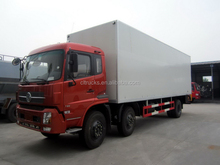 Modern OEM medical waste refrigerated van truck