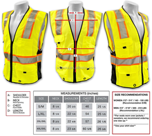 Safety Class 2 Deluxe Safety Vest horse riding safety vest