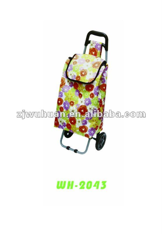 2014 Top Sale Light Aluminum Trolley Bag Europe Design Sturdy Wheels shoppng trolley bag