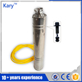 Kary customizable 24v 36v DC solar submersible pump deep well water submerged pump for irrigation