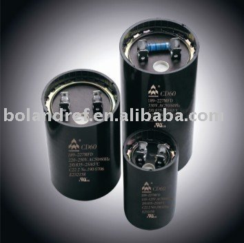 CD60 series aluminum Electrolytic capacitors