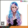 Fashion curly Cheap colorful party wig