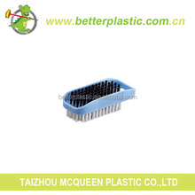 Manufacturer Best Quality Household Cheap Double-sides Plastic Clothes Clean Brush