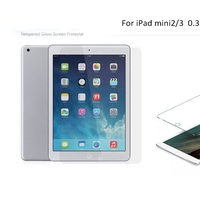 Explosion proof ultra clear 9H hardness anti-broken protective film For ipad mini 2 3 4 tempered glass screen protector