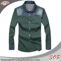 Pictures of casual dress branded military shirts for men