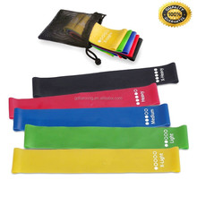 Best seller size 100% latex Gym exercise sport resistance loop bands