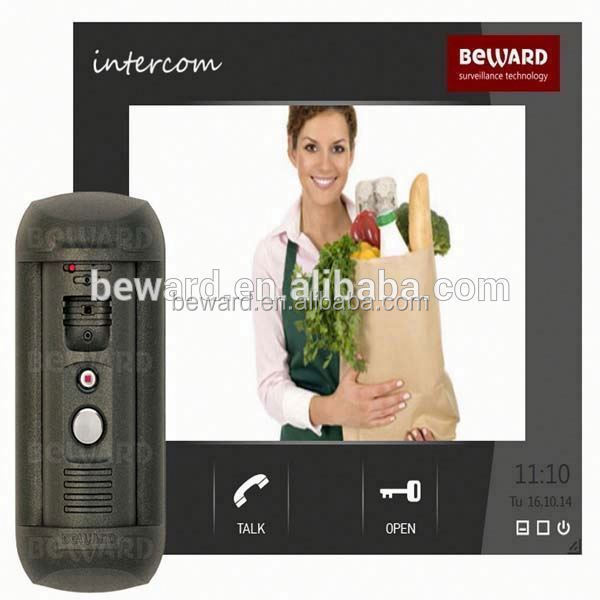 TCP/IP video door phone system Video Call Bell with Android system