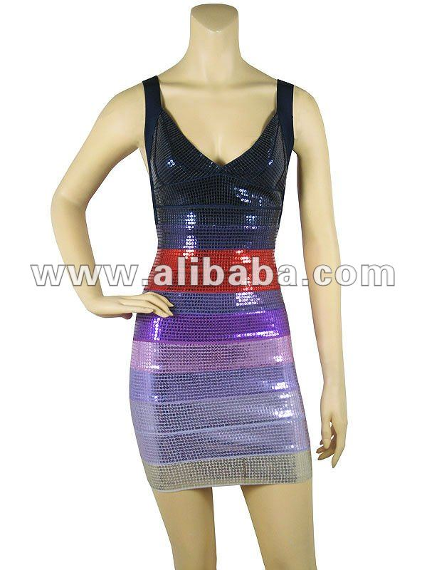 Bandage Bodycon Dress From $45 Accept OEM Put Your Own Logo