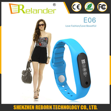 2016 touch screen Smart Wristband Bracelet / Fitness Tracker/ Heart Rate Monitor For Android and IOS SmartPhone