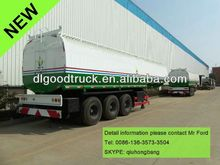 China carbon steel 40000-60000L fuel oil tanker semitrailer oil tank semitrailer 0086-13635733504