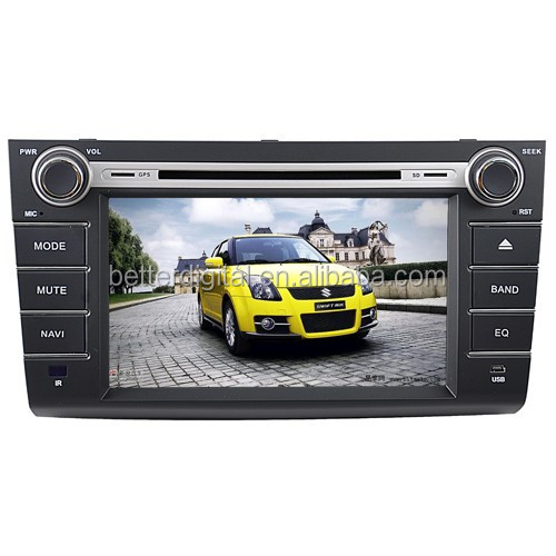 Touch screen car radio gps for suzuki swift with CE/ROHS cerftificates