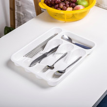 Colorful Kitchen Tray Plastic Cutlery Tray