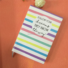 cardboard cover student diary hardcover notebook