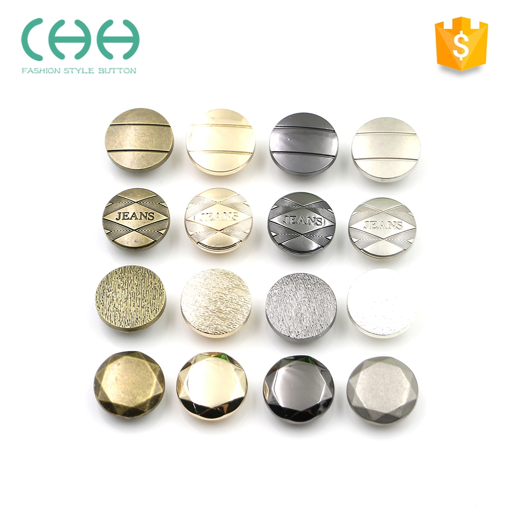 Garment accessories exquisite 20mm metal jeans button