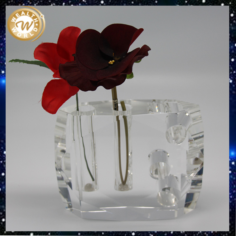 Crystal vase for wedding ,holiday,gifts,and souvenir