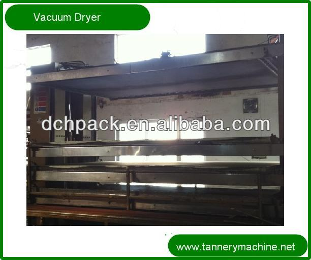 tannery machine hydraulic pressure 3P to 6P leather special vacuum dryer