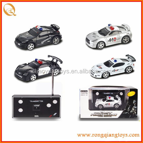 <strong>1</strong>:58 <strong>R</strong>/C MINI police car with light and music RC79432006D