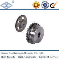 ASA standard Pitch 31.75 DIN8187-ISO/R606 roller chain machinery CNC high quality steel industrial drive sprocket wheel