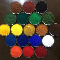 High Quality Iron Oxide Red/ Black/ Green/ Yellow Pigment For Color Asphalt And Master Batch