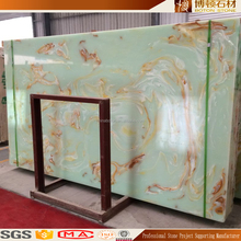 2016 high quality Building Materials Polished Crystal Onyx Marble Fooring Tiles