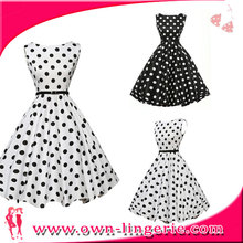 VINTAGE ROCKABILLY SWING EVENING FORMAL COCKTAIL PARTY DRESS SLEEVELESS