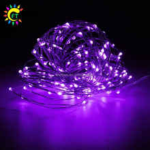 Party Decorations LED 2AA Battery Operated Mini Copper Wire Lights for Indoor Outdoor Wedding Garden