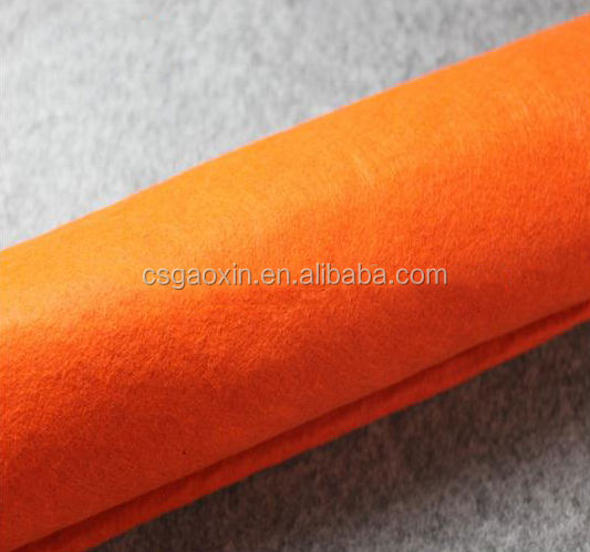 Thick polyester felt used for handicrafts